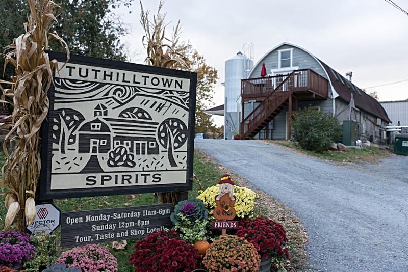 Tuthilltown Spirits in Gardiner_ NY.
