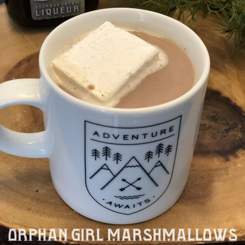 Headframe Spirits Orphan Girl marshmallows