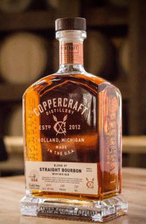 new packaging for Copper Craft Distillery