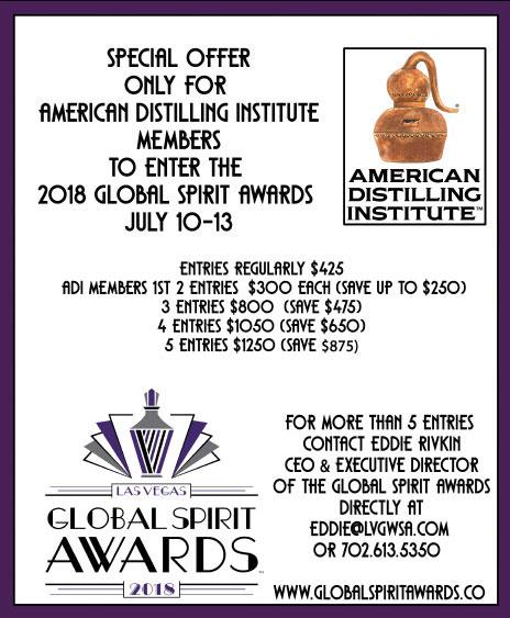 Global Spirit Awards in Las Vegas poster