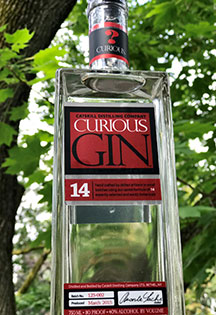 Curious Gin by Catskill Distilling Co.