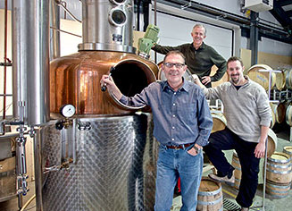 Ken Winchester and team at deVine Spirits