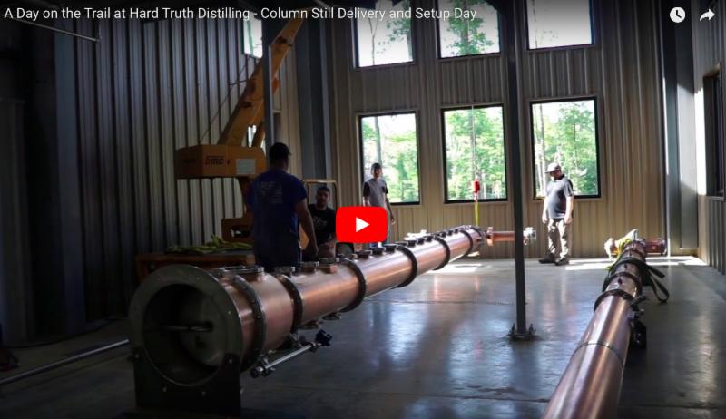 Column Still delivery at Hard Truth Distilling