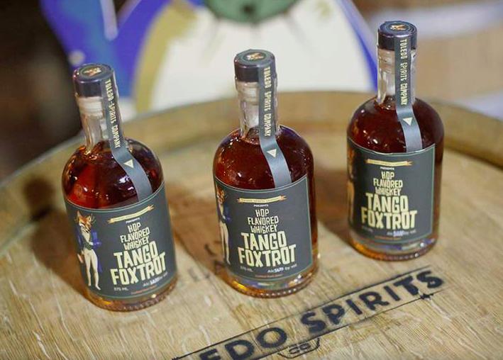 Toledo Spirits bottles
