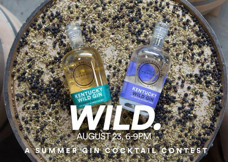 Wild. A Summer Gin Cocktail Contest.