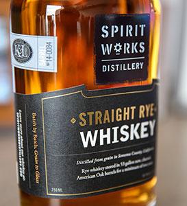 Spirit Works _K_L Exclusive_ Single Barrel _14-0084 Rye Whiskey