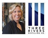 Marla Schneider_ new President of Three Rivers Distilling Co.