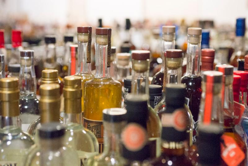 More than 800 bottles were entered into the 2017 ADI Judging of Craft Spirits.