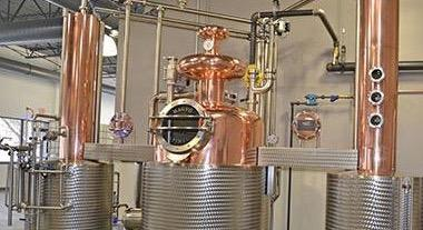 The still in the Flying Dutchman distillery was manufactured in Hungary.