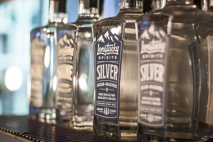 Longtucky Spirits_ Silver bottles