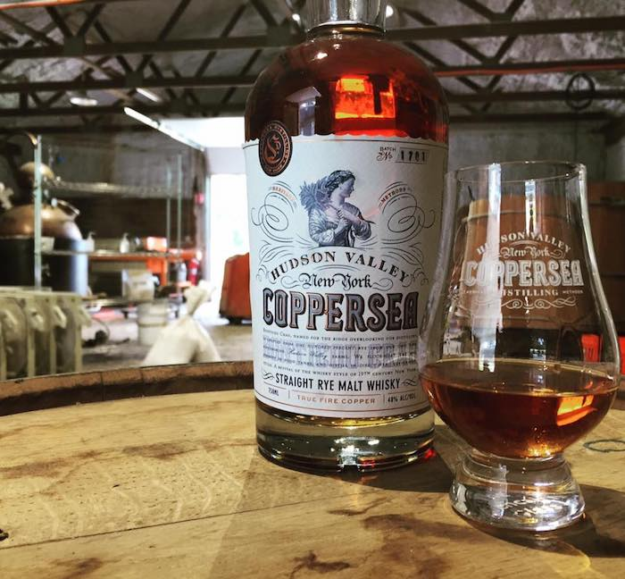 This rye whiskey from Coppersea is one of the new regional Empire Rye offerings.