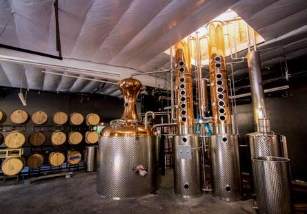 Rob Rubens Distilling stills