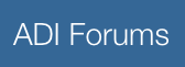ADI Forums logo