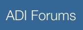 ADI Forums logo