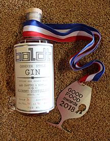 Boldt Gin by Alchemy Distillery