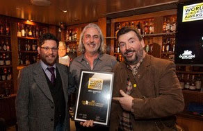 Rob Allanson _Whisky Magazine__ Michael Myers _Distillery 291__ Marty Duffy _Glencarin_