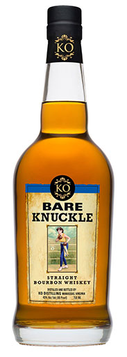 KO Distilling_s Bare Knuckle Bourbon