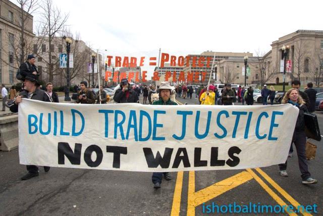 NAFTA march