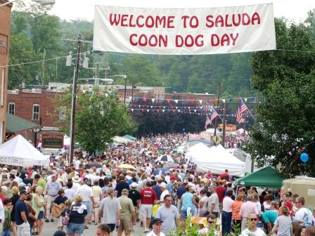coon dog day banner