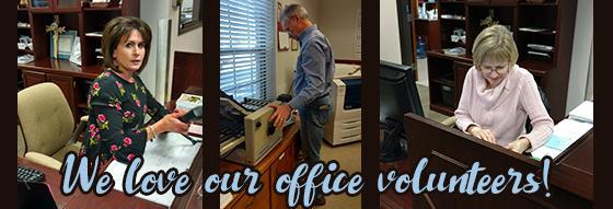 Office Volunteers