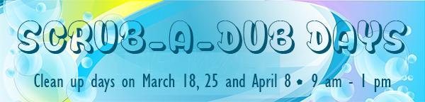 Scrub-a-dub Days