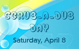 Scrub-a-Dub Day