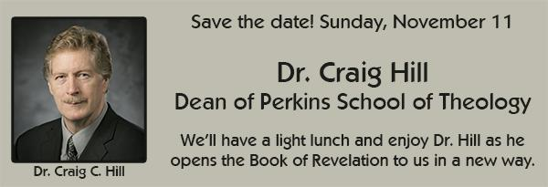 Dr. Craig C. Hill