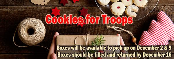 Cookies for Troops