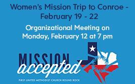 Women's Mission Trip