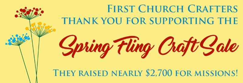 Spring Sale Thanks