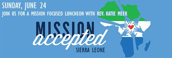 Mission Luncheon