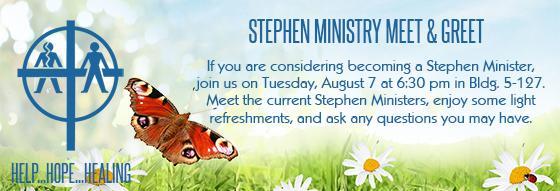 Stephen Ministry