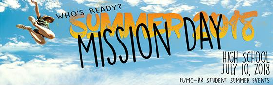 HS Summer Mission Day