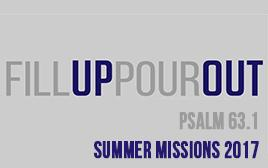 Youth Summer Missions