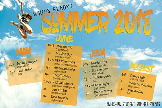 Summer Youth Events