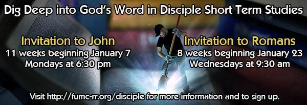 Disciple Bible Studies