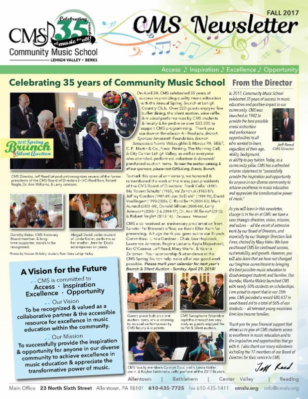 2017-10 Fall CMS Newsletter PDF