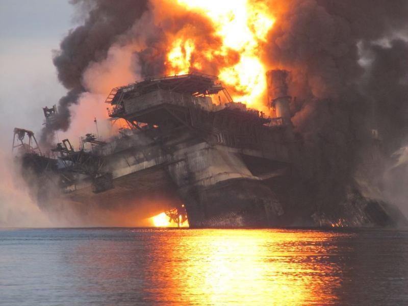 Gulf fire