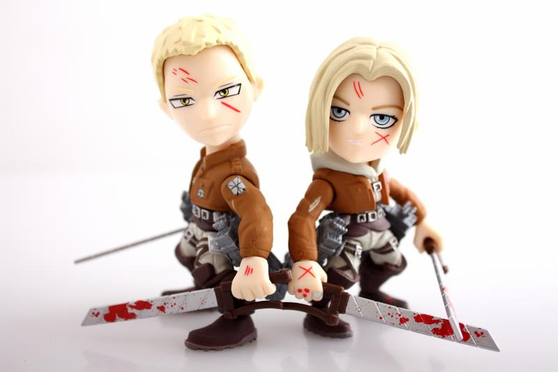The Loyal Subjects Announces Attack On Titan Quot Bloody And