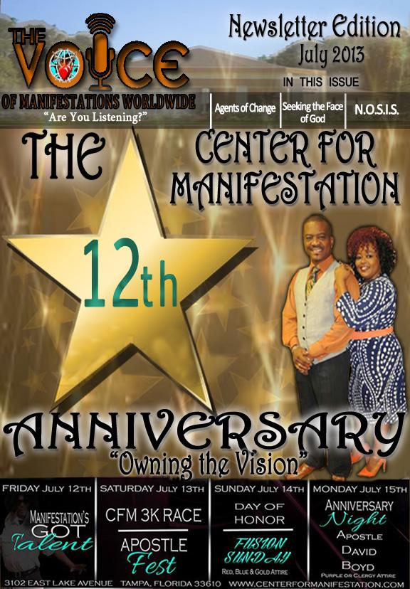 Anniversary 2013