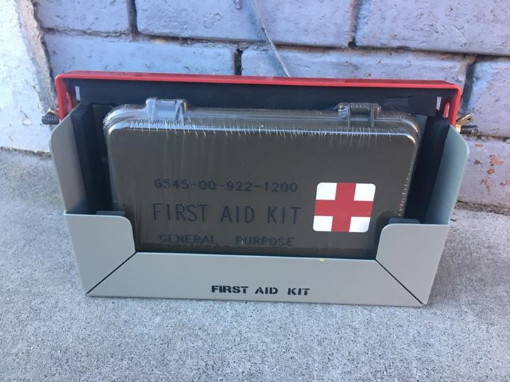 New Military First Aid Kit Mounting Boxes For Vehicle or