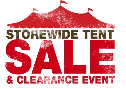 Tent sale starts friday for Labor day weekend furniture sales