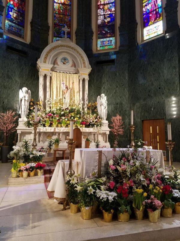 Easter Sunday at St. Anthony's, NYC