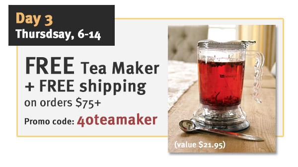 FREE Tea Maker