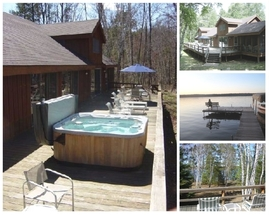 3-Night Vacation Home on Webb Lake