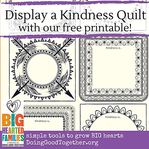 Display a Kindness Quilt