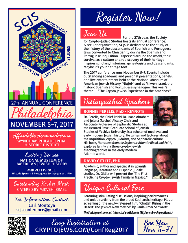 Flyer SCJS Conference