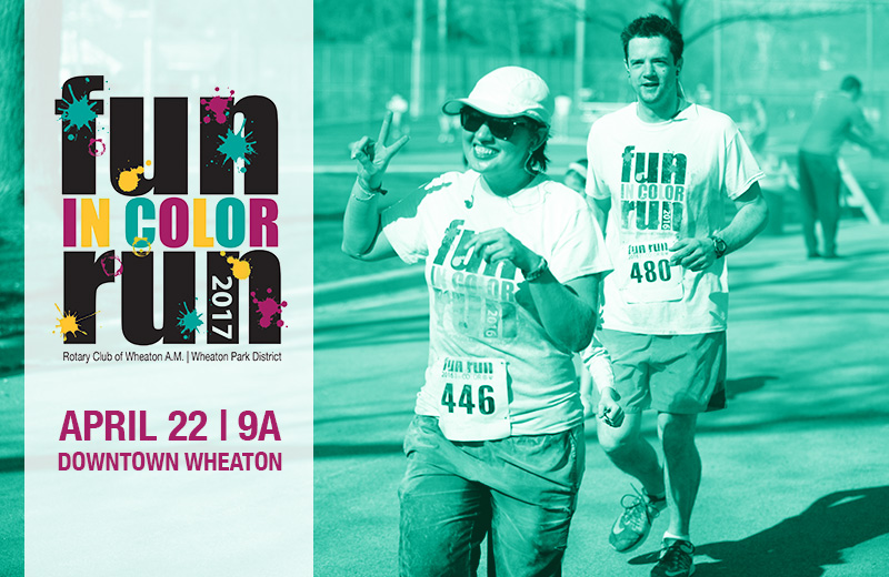 It 39 s your lucky day fun run in color special inside - Lucky color of the day ...