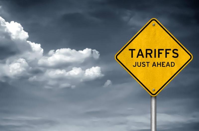 Tariffs just ahead