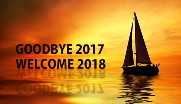 Goodbye 2017, Welcome 2018